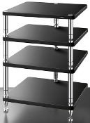 455. Solidsteel HJ-4 Four Shelf Audio Rack