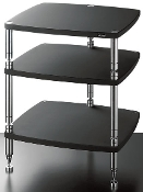 459. Solidsteel HS-3 Three Shelf Audio Rack