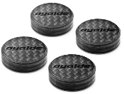 879. Oyaide INS-CFX Carbon Fiber Hybrid Isolation Discs