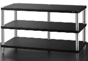 479. Solidsteel HW-3 Three Shelf Audio Rack