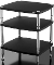 466. Solidsteel HF-3 Three Shelf Audio Rack