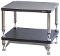 458. Solidsteel HP-2 Two Shelf Audio Rack