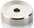 671. Clearaudio Stainless Steel 7 Inch Single Adapter