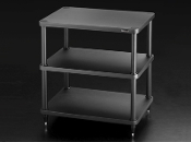 431. Solidsteel S3-3 Three Shelf Audio Rack