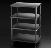 432. Solidsteel S3-4 Four Shelf Audio Rack