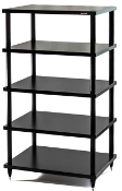 427. Solidsteel S2-5 Five Shelf Audio Rack