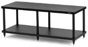 437. Solidsteel S4-2 Two Shelf Audio Rack