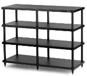 439. Solidsteel S4-4 Four Shelf Audio Rack