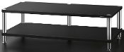 478. Solidsteel HW-2L Two Shelf Audio Rack