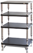 460. Solidsteel HP-4 Four Shelf Audio Rack