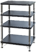 455. Solidsteel HY-4 Four Shelf Audio Rack