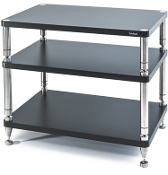 483. Solidsteel HY-3L Three Shelf Audio Rack